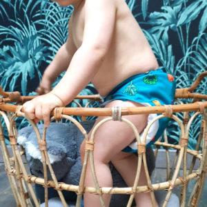 Kit Bambou 6 couches lavables évolutives